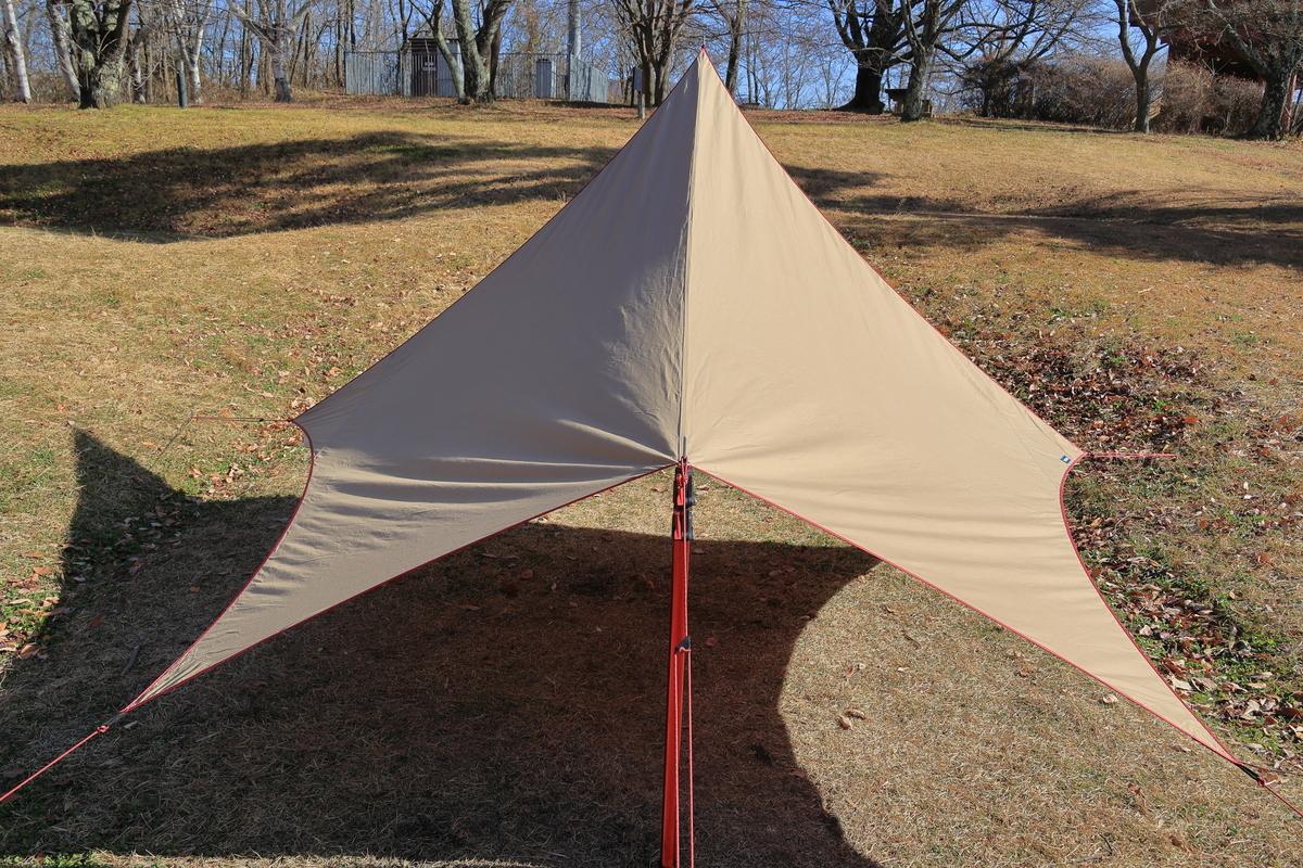 タープ ムササビ これからの季節は、タープ泊コット寝で、涼しく快適なキャンプを!